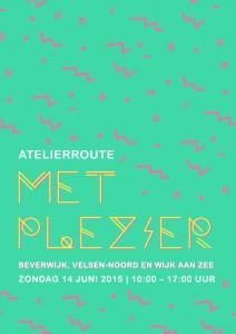 Poster Atelierroute 14 juni 2015