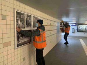 nieuwe expositie stationstunnel 1